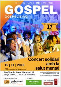 Gospel per la Salut Mental Basílica Santa Maria del Pi