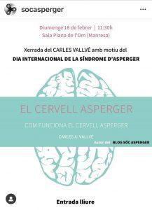 El cervell Asperger Sala Plana de l'Om