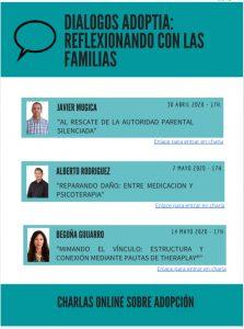Diálogos Adoptia. Charlas on-line sobre adopción