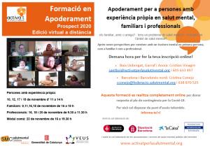 Formació online en Apoderament Prospect 2020