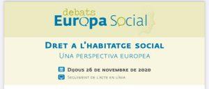 Zoom: Dret a l'habitatge social