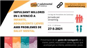 Jornada en streaming: IMPULSANT MILLORES EN L'ATENCIÓ A INFANTS, ADOLESCENTS I JOVES AMB PROBLEMES DE SALUT MENTAL