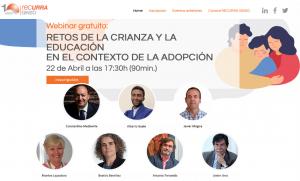 Webinar gratuït: RETOS DE LA CRIANZA Y LA EDUCACIÓN EN EL CONTEXTO DE LA ADOPCIÓN